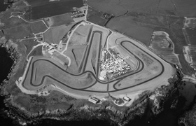A view of the Anglesey circuit from the air